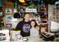 David and Rebeca Reynolds in their first shop